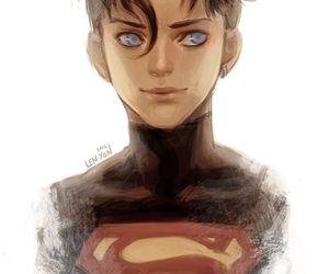 art, DC, and superboy image