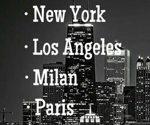 l.a., milan, and new york image