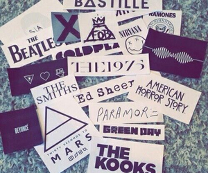 bands, retro, and grunge image