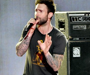 face, maroon 5, and perfection image
