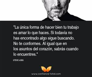 corazon, frases, and Steve Jobs image