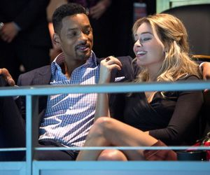 focus, will smith, and margot robbie image
