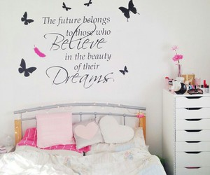 beauty, bedroom, and believe image