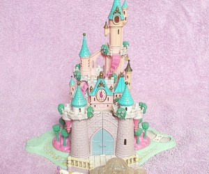 candy, castle, and disney image