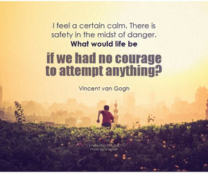 calm, courage, and inspiration image