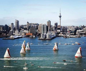 auckland and new zealand image
