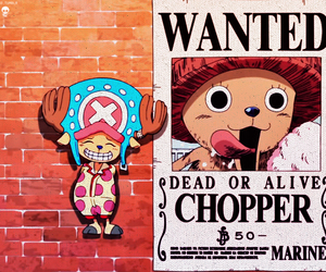chopper, funny, and one piece image