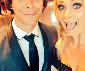 the 100, eliza taylor, and bob morley image