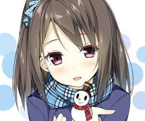 anime, anime girl, and tsukiko tsutsukakushi image
