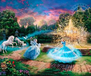 cinderella, disney, and fairytale image
