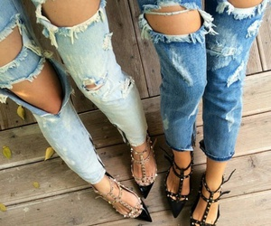 classy, clothing, and denim image