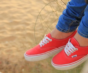 vans, shoes, and girl image