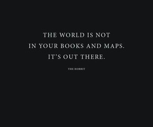 books, quote, and travel image