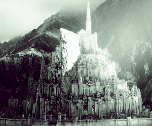 lord of the rings, Minas Tirith, and the return of the king image