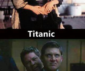 supernatural, titanic, and dean winchester image