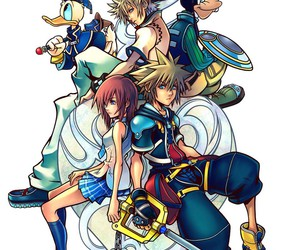 kingdom hearts, disney, and game image