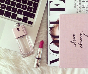 vogue, girly, and lipstick image
