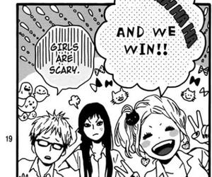 funny, happy, and manga image
