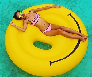 summer, bikini, and smile image