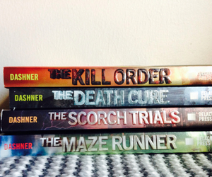 the maze runner and james dashner image