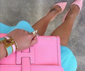 pink, fashion, and style image