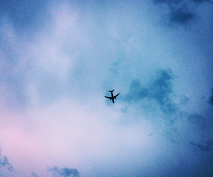 air, airplane, and awesome image