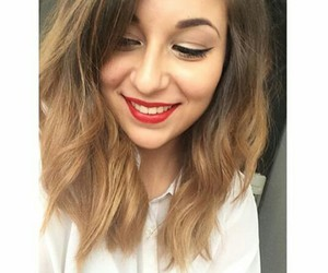 beautiful, hair, and horia image