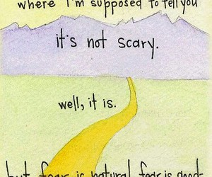 quotes, fear, and scary image