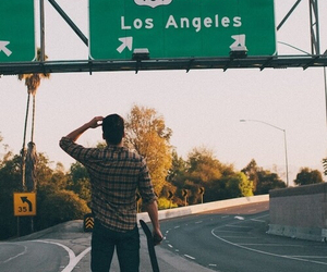 los angeles, boy, and skate image