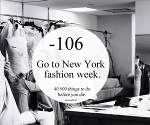 fashion week and new york image