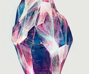 crystal, art, and drawing image