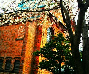 architecture, restaurant, and spring image