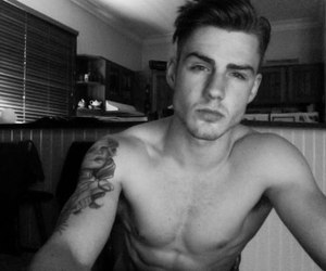 boy, Hot, and tattoo image