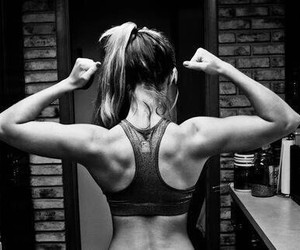 fitness, girls, and workout image