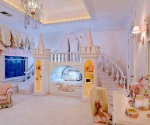 bedroom, room, and princess image