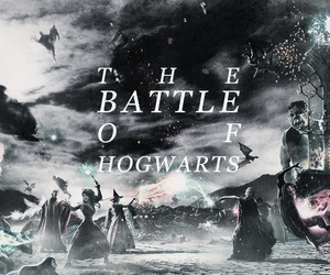 hogwarts, harry potter, and ron weasley image