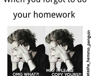 homework, 5sos, and luke hemmings image
