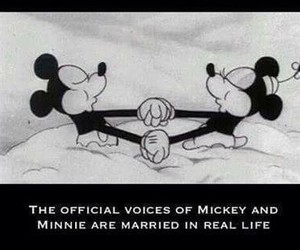 minnie, disney, and mickey image