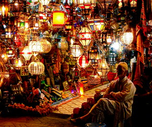 bazaar, boho, and colorful image