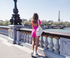 paris, city, and dress image