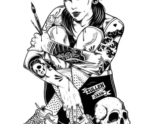 tattoo, art, and illustration image