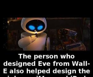 eve, funny, and wall-e image