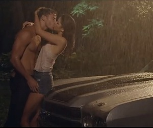 car, kissing, and couple image