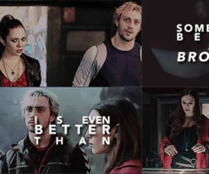 brother, Marvel, and scarlet witch image