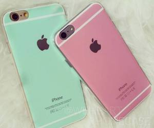iphone, pink, and iphone 6 image