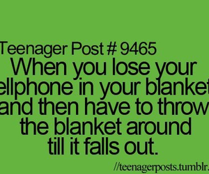 funny, teenager post, and blanket image