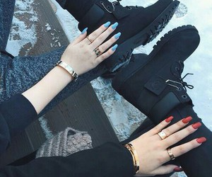 accessoires, outfit, and shoes image