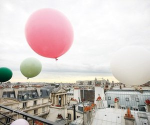 balloons, city, and paris image