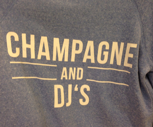 champagne, dj, and music image