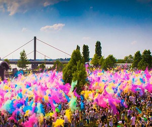 colourful, colours, and fesitval image